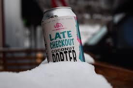 Vail Brewing Company Late Check-Out Coconut Porter, $10.99