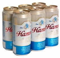 Hamm's 6pk, $2.99 Yep…kickin it OLD SCHOOL!