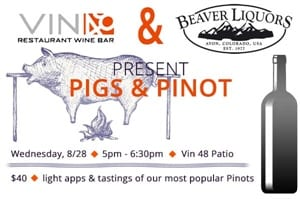 Pigs and Pinot