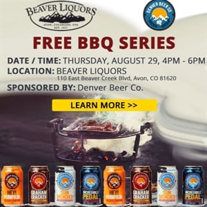Free BBQ with Denver Beer Co
