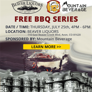 Free BBQ with Mountain Beverage