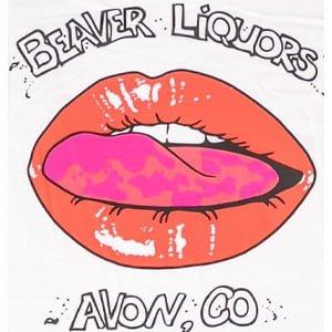 Beaver Liquors Lips T-shirt