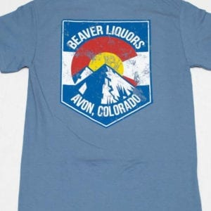 Beaver Liquors Shield tee