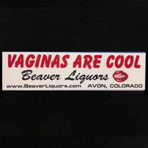 Vaginas are Cool bumpersticker